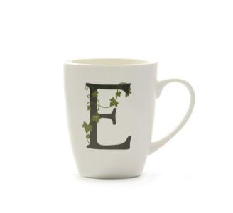Mug Lettera 'E' Cc 380 Gb