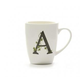 Mug Lettera 'A' Cc 380 Gb